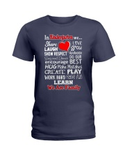 In KIndergarten We are Family Ladies T-Shirt thumbnail