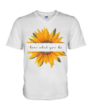 Teacher love what you do V-Neck T-Shirt thumbnail