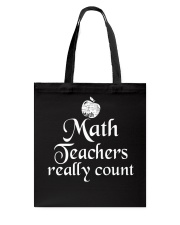 MATH TEACHER REALLY COUNT Tote Bag thumbnail