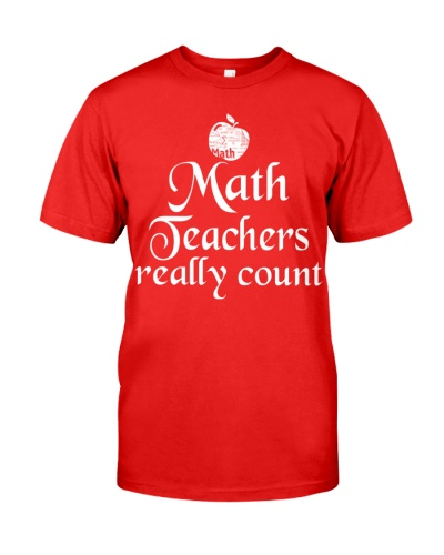 MATH TEACHER REALLY COUNT