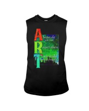 Art Teacher Sleeveless Tee tile