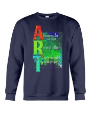 Art Teacher Crewneck Sweatshirt tile