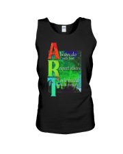 Art Teacher Unisex Tank tile