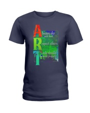 Art Teacher Ladies T-Shirt thumbnail