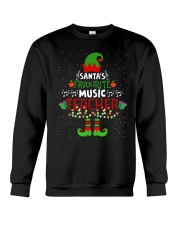 SANTA'S FAVOURITE MUSIC TEACHER Crewneck Sweatshirt thumbnail