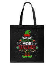 SANTA'S FAVOURITE MUSIC TEACHER Tote Bag thumbnail