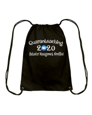 Quaranteaching 2020 Drawstring Bag thumbnail