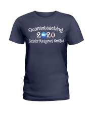 Quaranteaching 2020 Ladies T-Shirt thumbnail