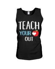 Teach Your Heart Out Unisex Tank thumbnail