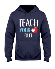 Teach Your Heart Out Hooded Sweatshirt thumbnail