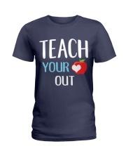 Teach Your Heart Out Ladies T-Shirt thumbnail