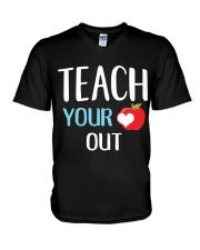 Teach Your Heart Out V-Neck T-Shirt thumbnail