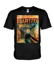 I Arted V-Neck T-Shirt thumbnail