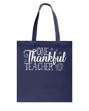 ONE THANKSFUL TEACHER Tote Bag thumbnail