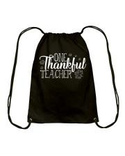 ONE THANKSFUL TEACHER Drawstring Bag thumbnail