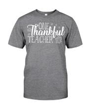 ONE THANKSFUL TEACHER Classic T-Shirt thumbnail