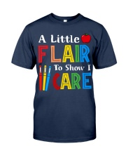 A little Flair to show i Care Classic T-Shirt tile