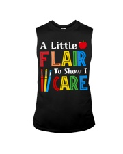 A little Flair to show i Care Sleeveless Tee thumbnail