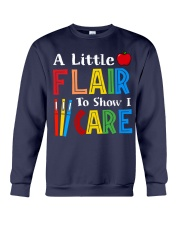 A little Flair to show i Care Crewneck Sweatshirt thumbnail