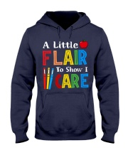 A little Flair to show i Care Hooded Sweatshirt thumbnail