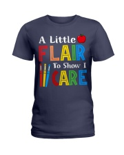 A little Flair to show i Care Ladies T-Shirt thumbnail