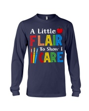 A little Flair to show i Care Long Sleeve Tee thumbnail