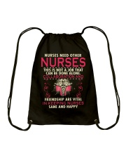 nurses need other nurses Drawstring Bag thumbnail