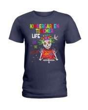 Kindergarten Teacher Life Ladies T-Shirt thumbnail