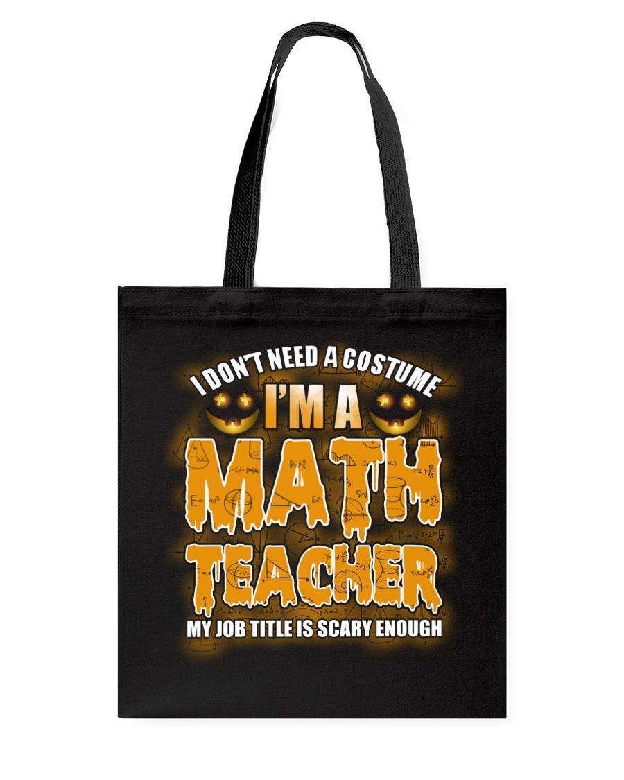 Math Teacher Halloween Tote Bag