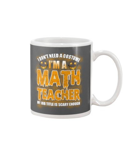 Math Teacher Halloween