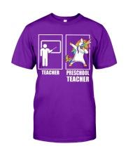 Peschool Teacher Classic T-Shirt front