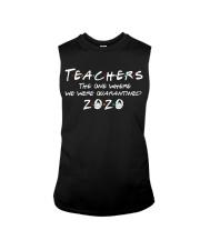 Teachers quarantined 2020 Sleeveless Tee thumbnail