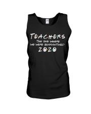 Teachers quarantined 2020 Unisex Tank thumbnail