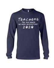 Teachers quarantined 2020 Long Sleeve Tee thumbnail