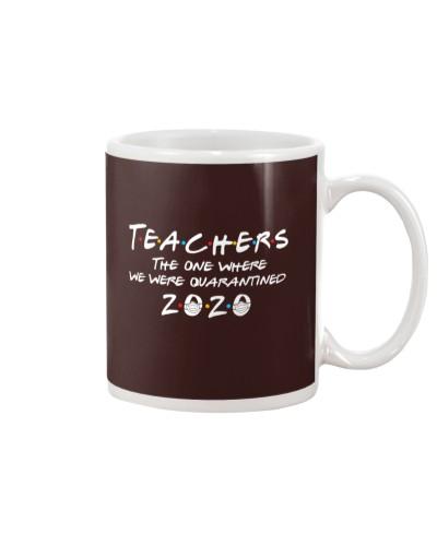 Teachers quarantined 2020