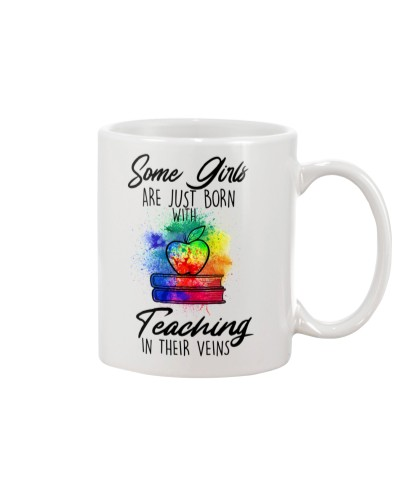 Teaching in their veins