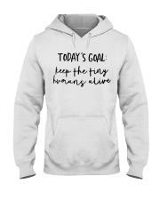 Keep The Tiny Humans Alive Hooded Sweatshirt thumbnail