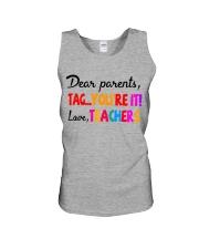 Love Teachers Unisex Tank thumbnail