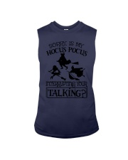 SORRY IS MY HOCUS POCUS INTERRUPTING YOUR TALKING Sleeveless Tee thumbnail