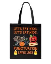 Let's eat Kids Let's eat Kids Tote Bag thumbnail