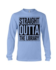 STRAIGHT OUTTA THE LIBRARY Long Sleeve Tee thumbnail