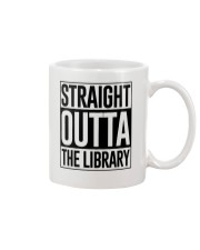 STRAIGHT OUTTA THE LIBRARY Mug thumbnail