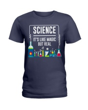 Science it's like Magic but real Ladies T-Shirt thumbnail