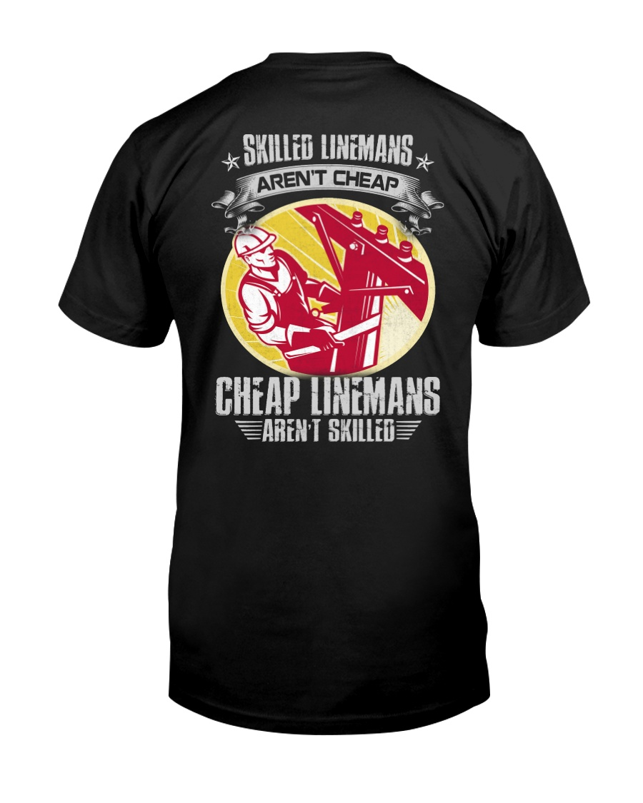 Skilled Linemans Classic T-Shirt