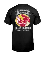 Skilled Linemans Classic T-Shirt back