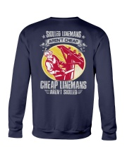 Skilled Linemans Crewneck Sweatshirt thumbnail
