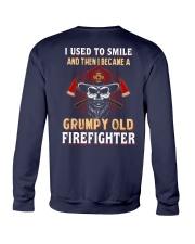 Grumpy Old Firefighter Crewneck Sweatshirt thumbnail