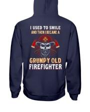 Grumpy Old Firefighter Hooded Sweatshirt thumbnail