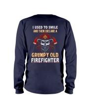 Grumpy Old Firefighter Long Sleeve Tee thumbnail