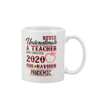 Never underestimate a Teacher Mug thumbnail